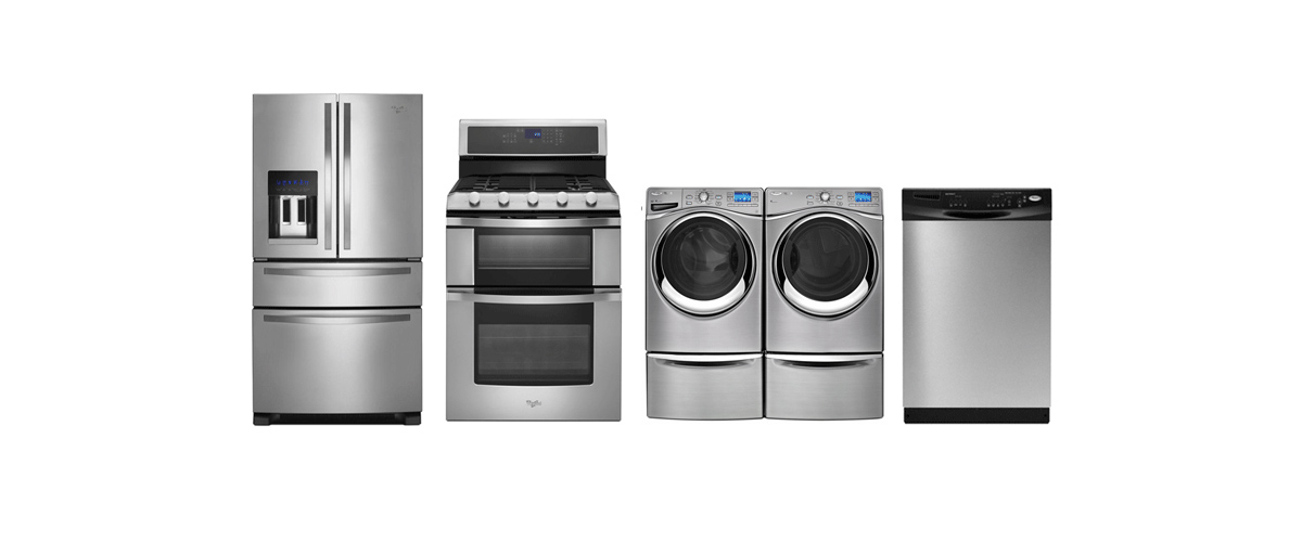 Appliances in a Row